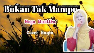 karaoke//BUKAN YANG PERTAMA//mega mustika//cover nayla