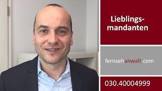Was sind meine Lieblingsmandanten?   Rechtsanwalt Alexander Bredereck