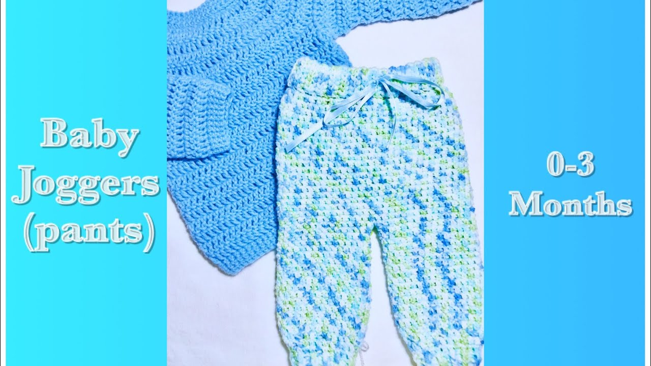 Crochet Baby Pants Leggings For Newborn 0 3 Months Easy To Make By