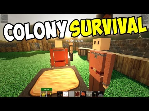 BRONZE AGE and SCIENCE BAGS!! - Colony Survival Gameplay - Episode 6