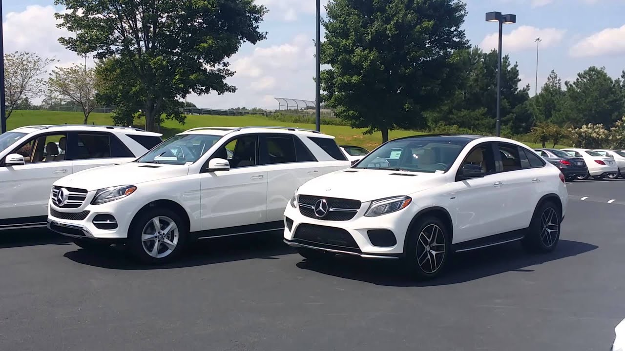 Comparison Mercedes Benz Ml350 Gle350 And Gle450