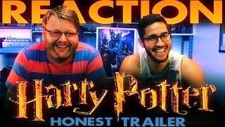 Harry Potter Honest Trailer REACTION!!