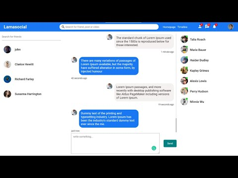Realtime Chat App With React, Node.js, Socket.io | Mern Stack Messenger Clone