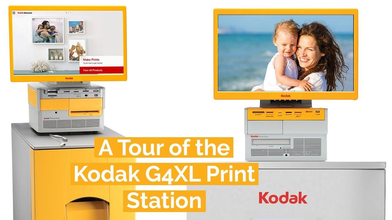 A Tour of the Kodak G4XL Print Station
