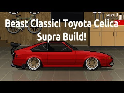 Beast Classic! Toyota Celica Supra Build in Pixel Car Racer!