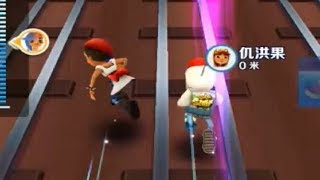 Subway Surfers Game Play Online Multiplayer Part 7  Funny Racing