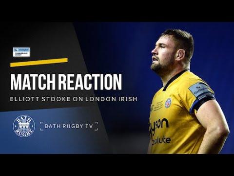 Post-match - London Irish V Bath Rugby - Elliott Stooke