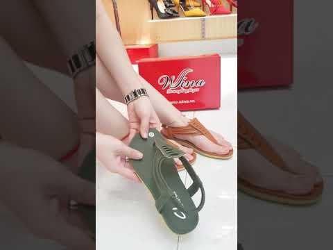 Giày sandal đế bệt giá siêu rẻ chỉ 99K