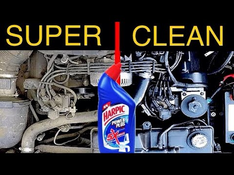 How to SUPER CLEAN YOUR Car's Engine Bay | #Easy DIY | #Maruthi 800 | #Harpic cleaning