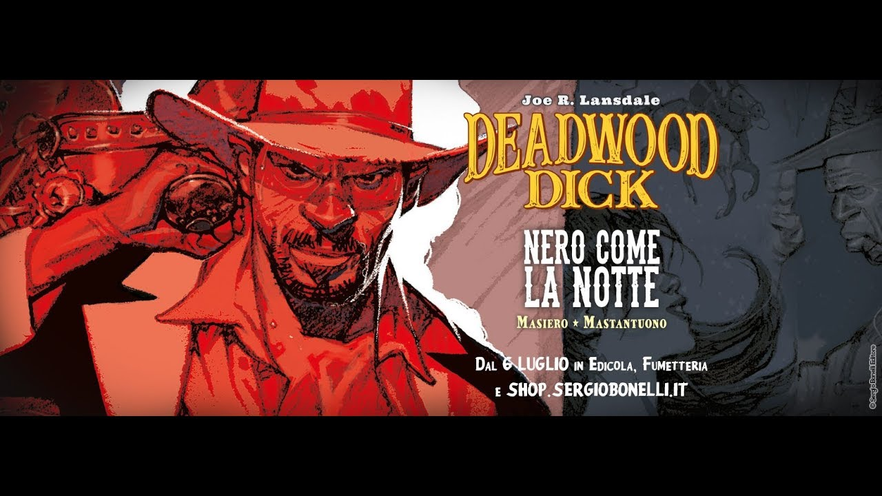 Grande Nero Dick cartoni animati