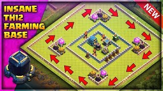 Best Th12 Farming Base With 3 Infernos | Anti Everything | Clash of Clans