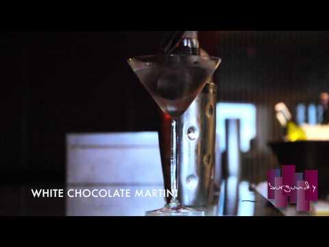 Mouthwatering White Chocolate Martini By Classy Bar Jakarta Burgundy