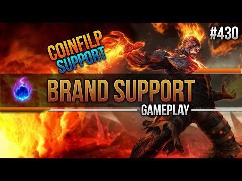Brand (Support): Coinflip Support #430 [Lets Play] [League of Legends] [German / Deutsch]