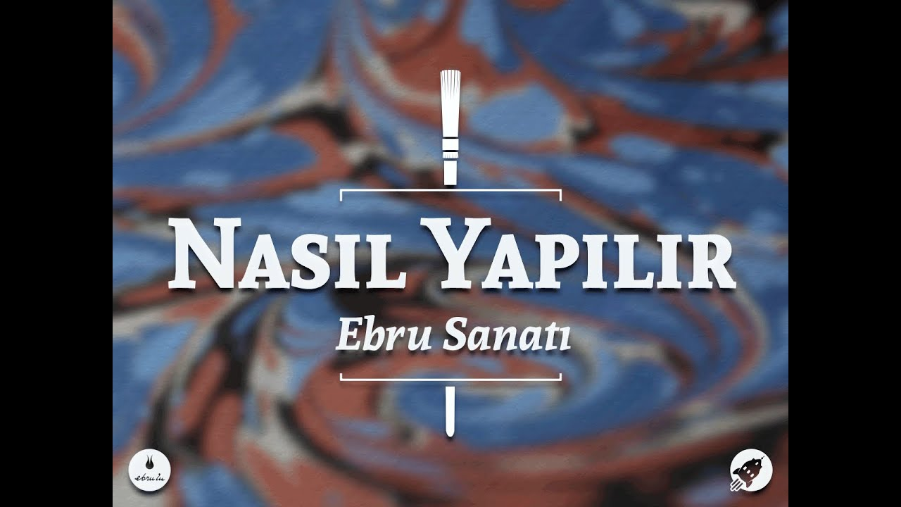 Ebru Sanati Nasil Yapilir Youtube