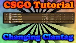 CSGO Tutorial | Changing Clantag