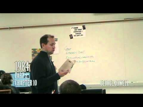 """George Orwell: """"1984"""" - Part 2 Ch. 9-10 (Lecture)"""