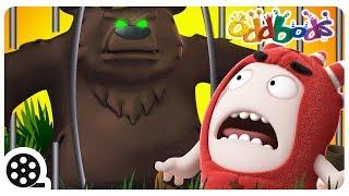 Eaten In The ZOO | Cartoon | Oddbods | Funny Cartoons For Children