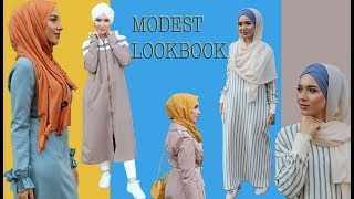 AUTUMN LOOKBOOK WITH MODANISA | NABIILABEE