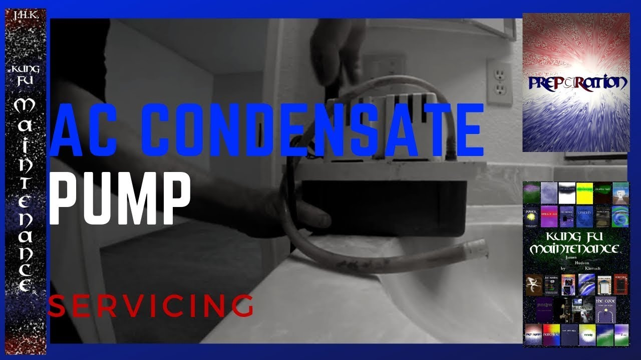 Air Conditioner Condensate Pump Runs Without Stopping Often Needs Hvac Hard Start Kit Wiring Diagram Repair Maintenance Service