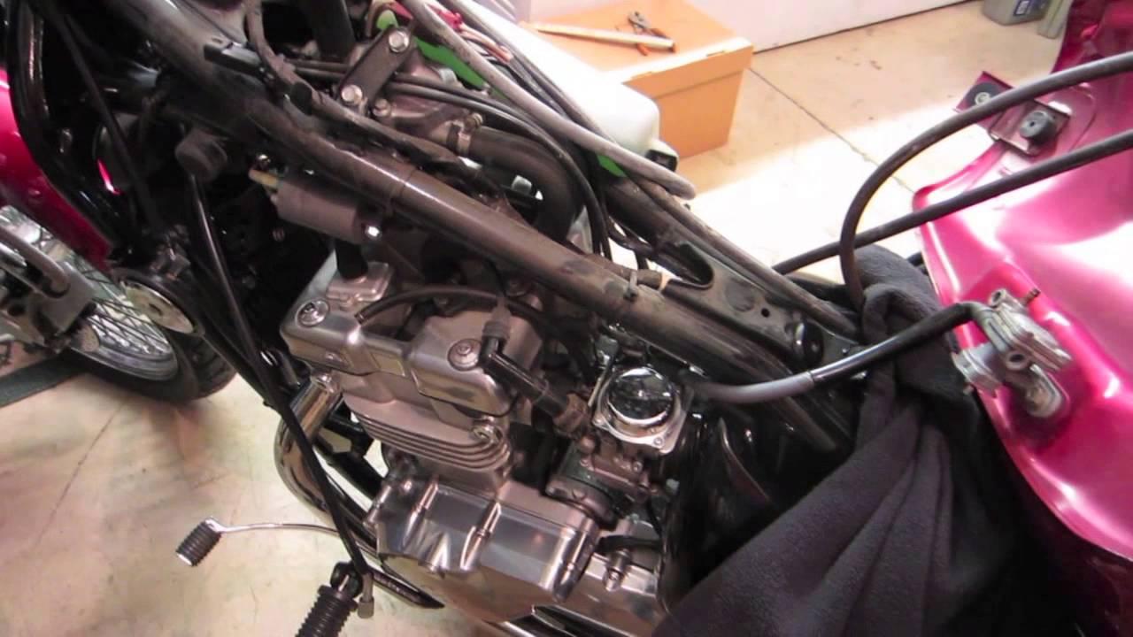 Honda Vtx Wiring Diagram How To Vulcan Motorcycle Spark Plug Change Youtube