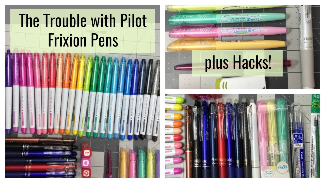 The Trouble With Pilot Frixion Pens Review And Hacks