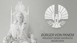 Die Tribute von Panem – Mockingjay Teil 1 - 1. Ansprache von Präsident Snow