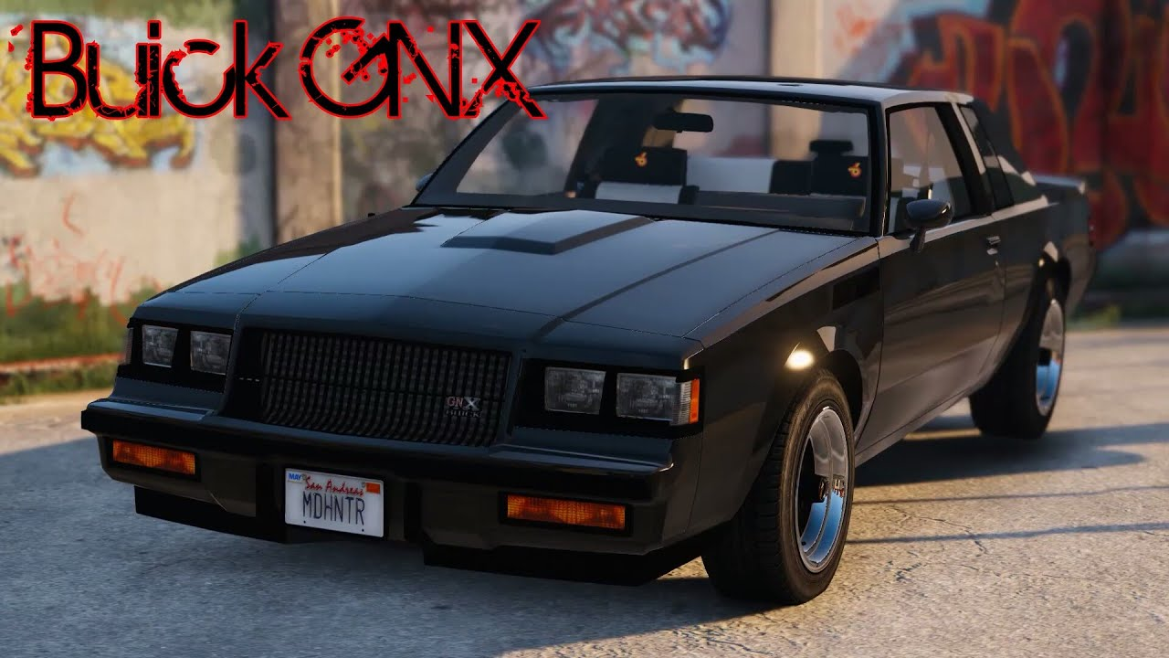 Buick Grand National 2016 >> GTA V - Buick Regal GNX - YouTube