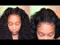Flawless Natural  Curly Lace Wig/Frontal Application