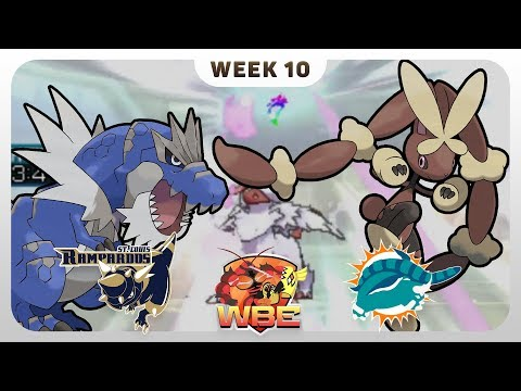 ABSOLUTE DESTRUCTION | St. Louis Rampardos VS Miami Donphans WBE W10  | Pokemon Sun Moon