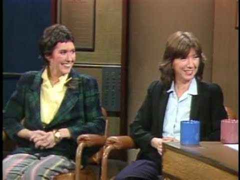 Kate and Anna McGarrigle on Late Night, April 21, 1983