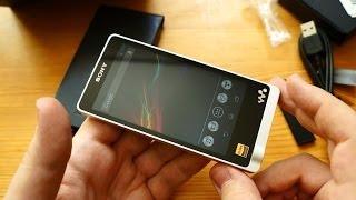 Распаковка Sony Walkman ZX1: топовый плеер за 27 990 рублей