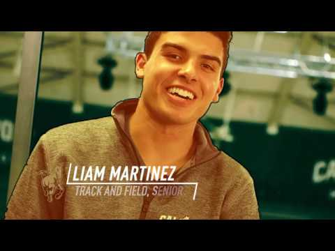 San Luis Sports Therapy - Student-Athlete Feature - Liam Martinez (Track and Field)