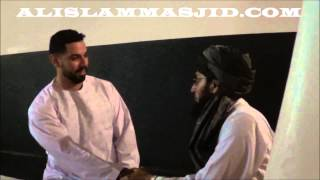 Brother Gilbert Reverts @ AIM by Sheikh Qazi Fazlullah(DB)