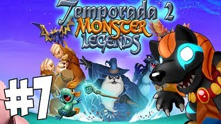 Monster Legends T2   Capitulo 7   Darknubis y Cueva de gemas