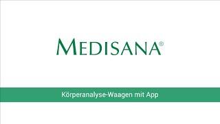 medisana connect krperanalysewaagen bs 444 bs 445 bs 430 bs 440 erste schritte