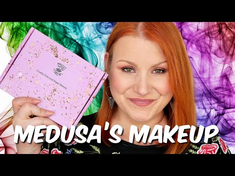 MEDUSA'S MAKEUP FEBRUARY CRUELTY FREE & VEGAN  BEAUTY SUBSCRIPTION UNBOXING