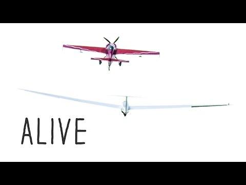 Segelfliegen - Alive 4k