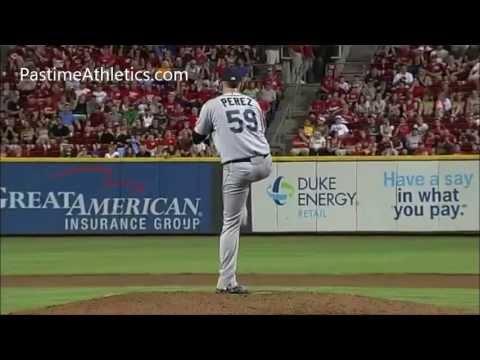 Oliver Perez AMAZING OLD SCHOOL Pitching Mechanics Baseball Instruction Analysis MLB Video