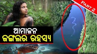 ଦୁନିଆର ସବୁଠୁ ରହସ୍ୟମୟ ଜଙ୍ଗଲ || Amazon Jungle Mysterious Facts || Part 2