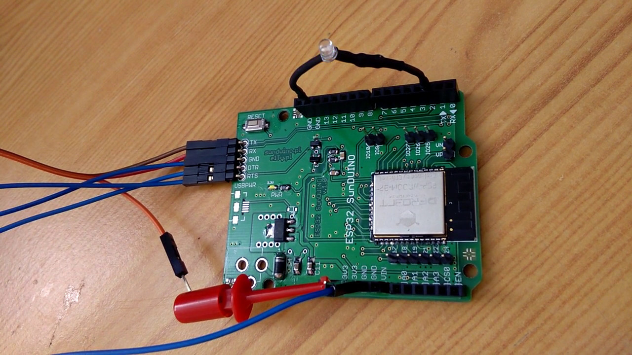 Time4EE | Electronic Engineering - Articles: ESP32 and Arduino IDE