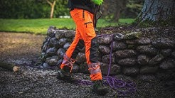 Breatheflex Pro Hi Vis Chainsaw Trousers