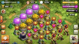 clash of clans most ressources ever more than 18 million inside tobi kaiser