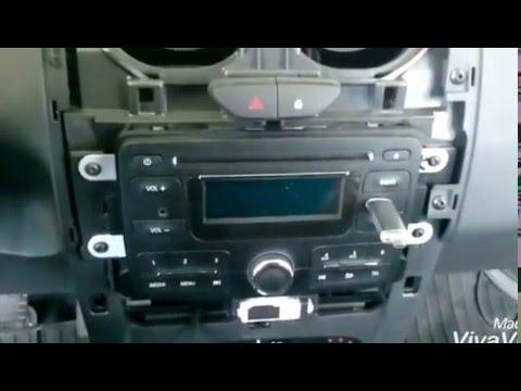 dacia duster ii radio ausbau removing stereo youtube. Black Bedroom Furniture Sets. Home Design Ideas