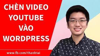 Hướng dẫn cách nhúng video Youtube vào website