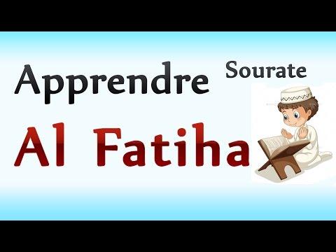 Apprendre Al Fatiha pour les petits en phonétique [Coran facilement débutants]