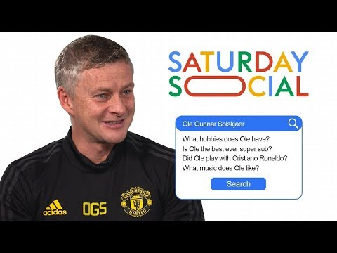 Ole Gunnar Solskjaer Answers The Web's Most Searched Questions About Him   Autocomplete