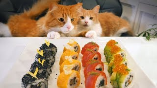 A Japanese Take on American Sushi by : JunsKitchen