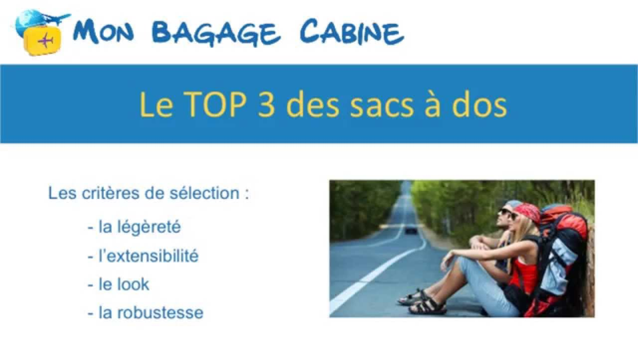 meilleur sac a dos cabine avion monbagagecabine youtube. Black Bedroom Furniture Sets. Home Design Ideas