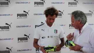 Calcioshop.it ed Alessandro Diamanti con le sue Puma personalizzate