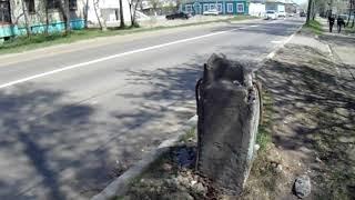 [Николаевск-день за днём] КТО ОТКУСИЛ БЕТОННЫЙ СТОЛБ ??